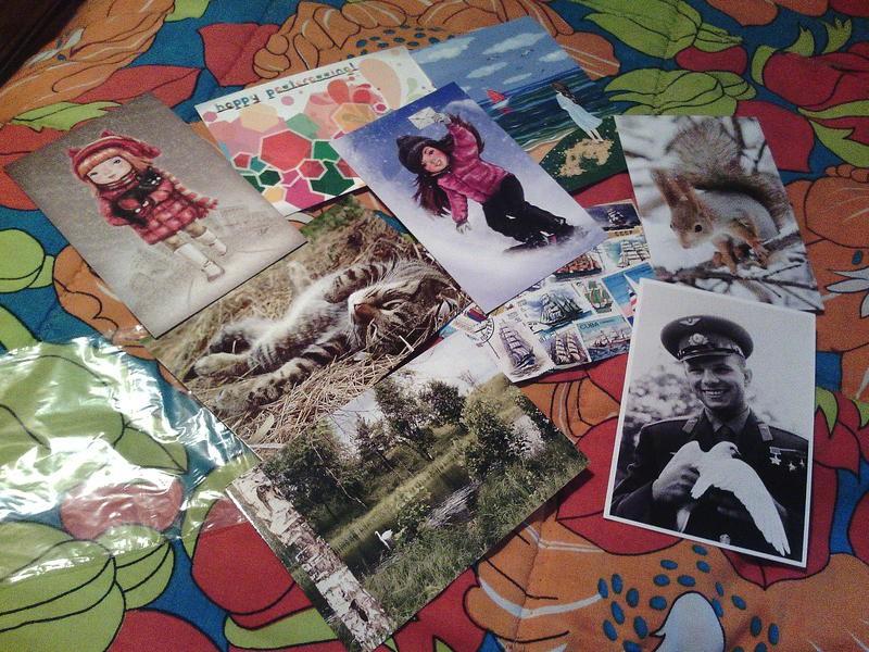 Продажа открыток и обмен